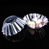 Vaisselle Disque en plastique Distillable jetable Fluted Plastic Serving Dish