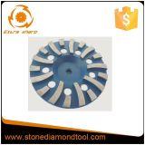 Колесо чашки диска диаманта этапа торнадоа 7 дюймов конкретное меля
