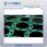 RubberPakking van de Vezel van Sunwell van het Centrum van de afzet de Synthetische