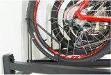 Cremalheira de indicador da bicicleta da grande capacidade da plataforma do dobro do aço de carbono