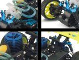 1/16 Auto van het Stuk speelgoed RC van het Type van Schaal pp Plastic en van het Plastic Materiaal Nitro