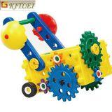 Brinquedo do bloco de apartamentos da instrução DIY das crianças