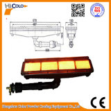 Forno de revestimento em pó aquecedor de gás industrial infravermelho HD262