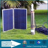 電池が付いている太陽動力を与えられた浸水許容の深い井戸の水ポンプ