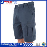 8 poches ont détendu le pantalon de circuits de cargaison de travail d'ajustement (YGK115)