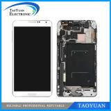 Примечание 3 LCD, на примечание 3 N9000 N9002 N9005 N9006 N9008 LCD галактики Samsung с агрегатом экрана касания