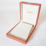 Boîte d'emballage de luxe de carton de boucle d'oreille de travail fin