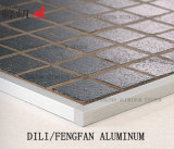 Ajuste de aluminio de la sección del rectángulo cuadrado para las paredes y los suelos