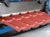 O rolo de aço colorido o mais novo da telhadura da telha que dá forma à máquina
