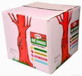 Естественная коробка пиццы картона взгляда (PPB121)
