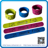 Own Logo (HN-SB-071)の新しいProduct Silicone Material Slap Bracelet