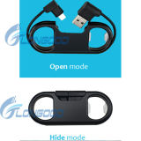 iPhone를 위한 Design 새로운 Charge Sync Cable Bottle Opener