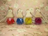 Car Perfume Bottle를 위한 8ml Diamond Empty Glass Perfume Bottle