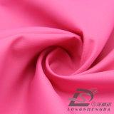 Água & do Sportswear tela 100% listrada tecida do Pongee do poliéster do jacquard da pele do pêssego para baixo revestimento ao ar livre Vento-Resistente (53072)