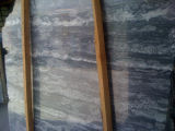 床および壁のための磨かれた自然で大きい灰色の花こう岩の平板