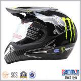 Kühler schwarzer Motorcross Mattsturzhelm ECE-(CR404)
