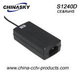 Gleichstrom12v cctv-Überwachungskamera-Stromversorgungen-Adapter (S1240D)