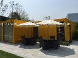 Barra de café prefabricada del plegamiento conveniente/prefabricada móvil de la casa