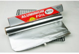 papel de aluminio del hogar de 8011-O 0.014m m para el alimento de mar de la asación