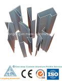 Perfil de alumínio feito sob encomenda da extrusão de acordo com a exigência