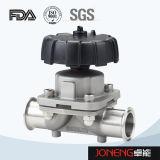 Transformación de los alimentos del acero inoxidable tipo válvula de diafragma (JN-DV1009) de 3 maneras U