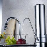 Filtros de agua de escritorio de acero inoxidable Esterilización olor peculiar Remoción Rust Individual