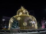 Decoração clara Multicolor do hotel do Natal do diodo emissor de luz