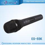 Микрофон динамического микрофона Es-55k профессиональный KTV провода
