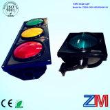 Ce& RoHS Ceritificated 3 양상 LED 명확한 볼록한 렌즈를 가진 번쩍이는 신호등
