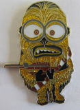 Metall Minions Badge in Soft Enamel und in Glitter (badge-189)