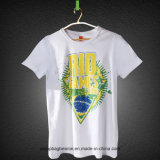 Neueste Entwurfs-Baumwollpreiswertes T-Shirt 100%