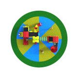 Напольная спортивная площадка--Малая серия предохранителя земли, скольжение детей напольное (XYH-MH017)