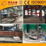 Hydraulische festklemmende Fertigwaren und transportierender Mechanismus Block-Herstellungs-des Geräts des AAC Block-Plant/AAC