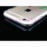Tampa transparente de pintura personalizada/caixa do telefone móvel