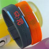 Wristwatch спорта цифров браслета даты Sillicon СИД женщин людей Gelbert водоустойчивый