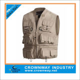 Men를 위한 방수 Fly Fishing Vest Jacket Clothes
