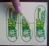 Mooie Goede kwaliteit Custom Design Clear Label Sticker