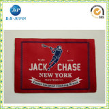Escrituras de la etiqueta de encargo baratas de la camiseta de la alta calidad de la fábrica de China para la marca de fábrica de la ropa (JP-CL101)