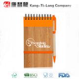 Caderno de bambu de Eco para artigos de papelaria do escritório