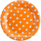 Fuentes de papel disponibles del partido de las placas de cena