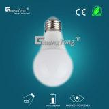 Ampoule en aluminium d'éclairage LED des lumières d'ampoule de l'usine DEL de la Chine 9With12W