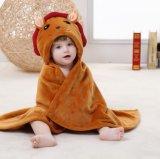 Tigre stereoscopica appena nata molle eccellente del mantello coperta/3D della flanella del bambino