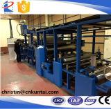 El solvente de la materia textil basó la máquina que laminaba del pegamento