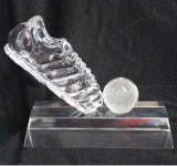 Sports Souvenir를 위한 축구 Crystal Trophy Award