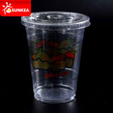300ml 400ml 500ml 600ml Disposable Clear Plastic Beer Cup