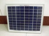 poly panneau solaire 15W pour charger la batterie 12V