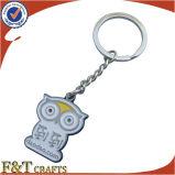 Marchio su ordinazione dell'ammina sveglia operata nessun hotel poco costoso minimo Keychain (FTKC1617A)