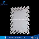 Specchio d'argento a doppio foglio decorativo dello specchio di Franeless/vinile di periodo Mirror/Safety