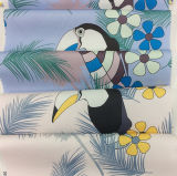 Tela de materias textiles casera impresa nuevo diseño de Garment& del poliester
