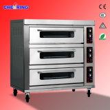 Tre-Piattaforma, Nine-Trays New Model Gas Oven con Digital Temperature Controller